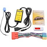 XCSOURCE Adattatore ingresso interfaccia AUX Car Audio CD MP3 USB Player con lettore di schede + 20Pin Cavo per Audi A2 A4 A6 A8 AllRoad AC471