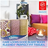 Kleenex Perfect Fit Facial Tissue, 50 Count (Pack of 9)