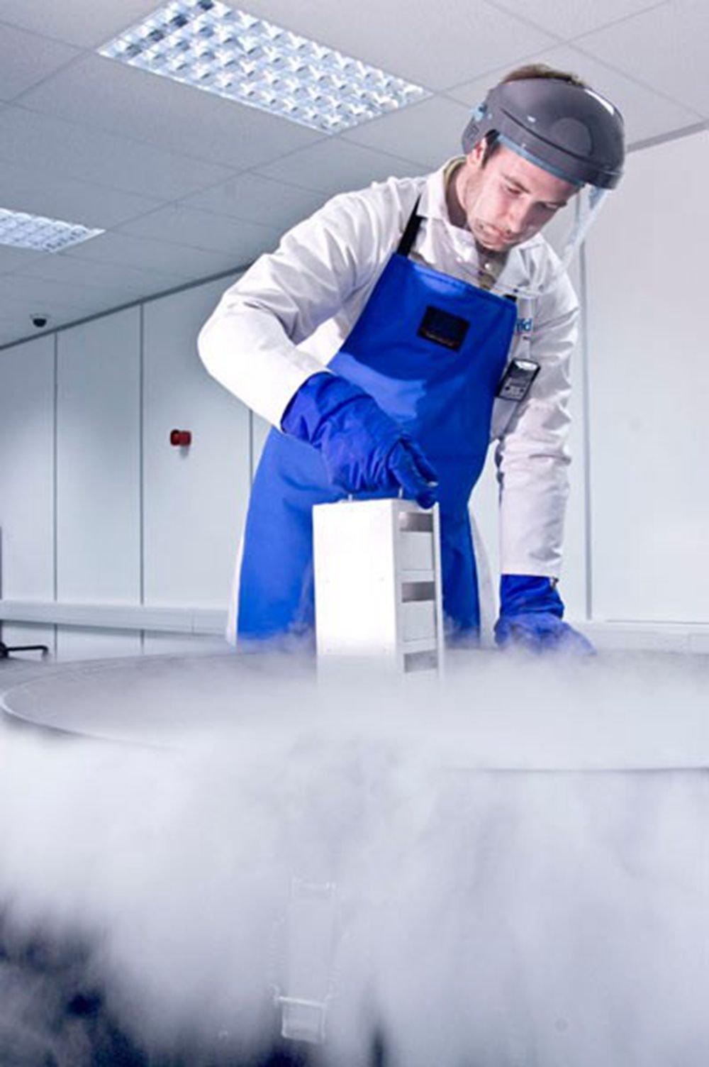 Holulo Safety Apparel Cryogenic Apron and PTFE Waterproof Cryogenic Safety Bib Apron 43''X26'' (XL)