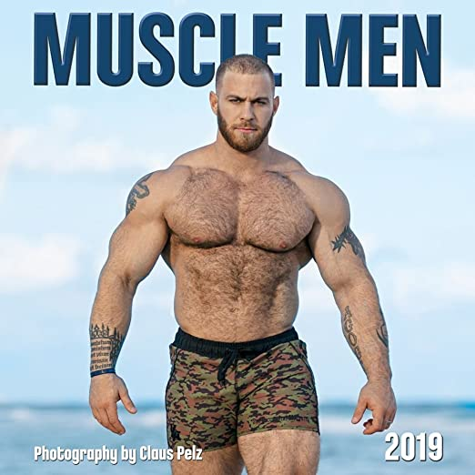 Excellent Muscle men getting facials