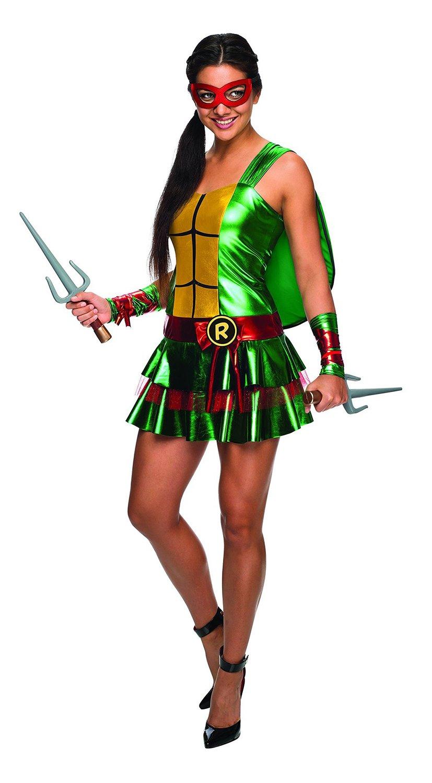 Disfraz de Raphael Las Tortugas Ninja sexy para mujer - L: Amazon ...