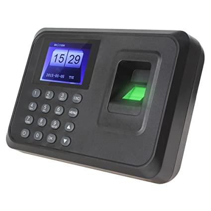 ZAICUS A6 2.4 inch Color TFT Screen Biometric Fingerprint Time Attendance Machine