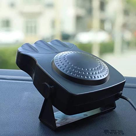 Unitedheart Coche Vehículo Portátil Eléctrico Práctico Calentador de Aire Cuarto de Calentador Ventilador Estufa Estufa Calentador
