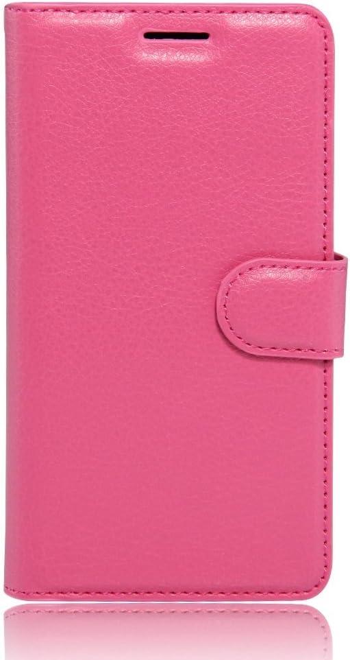 Ycloud PU Ledertasche Flip Cover Wallet Case Handyh/ülle mit Stand Function Credit Card Slots Bookstyle Purse Design schwarz Tasche f/ür Wiko U Feel H/ülle