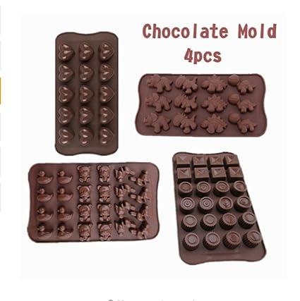 Molde de silicona de grado alimenticio para pasteles, molde de pastel, molde de chocolate
