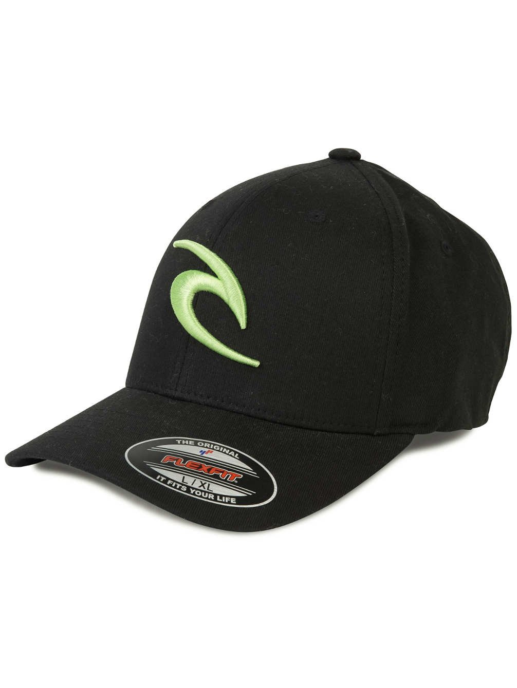 RIP CURL Curved Fitted - Gorra para hombre, color negro, talla FR ...