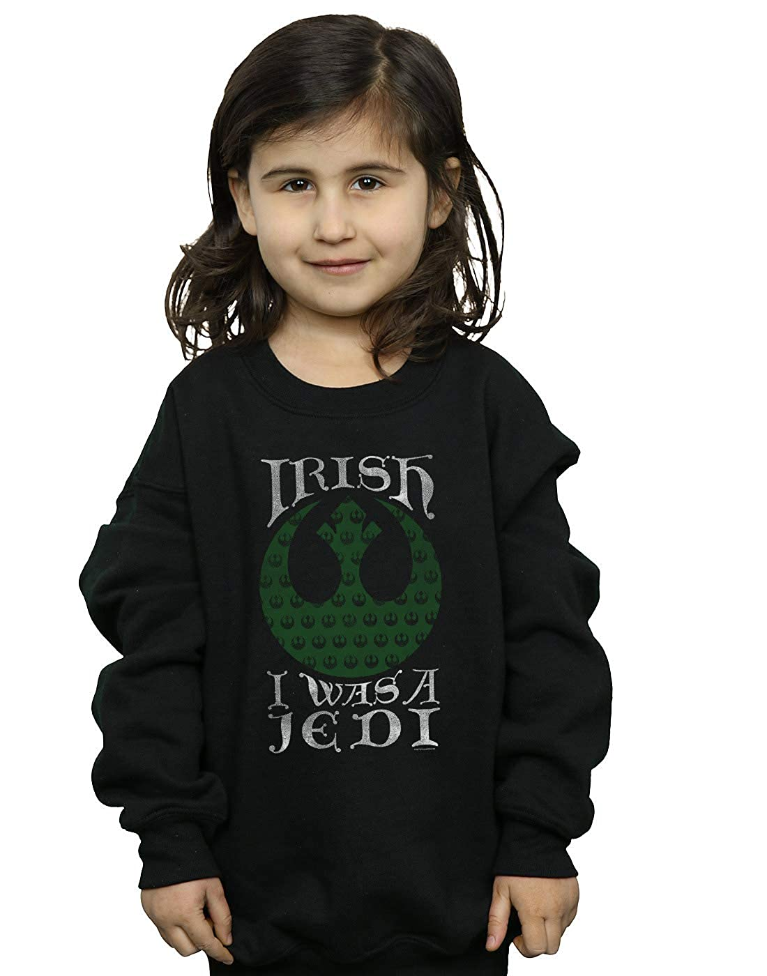 Star Wars Girls Irish I was A Jedi Sweatshirt