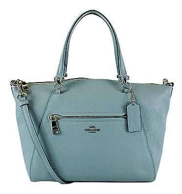 b2ed4f6ab71b19 Amazon.com: Coach Women's Prairie Satchel Bag (Cloud): Shoes