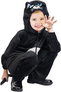 Ikumaal F126 Disfraz de Gato Tallas 2-3 años, Disfraz Disfraces ...