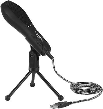 Delock Usb Kondensator Mikrofon Microphone Elektronik