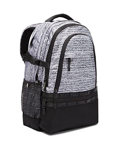 fe181b81ed5 Amazon.com   VICTORIA SECRET Collegiate Backpack MARL GREY AND BLACK    Everything Else