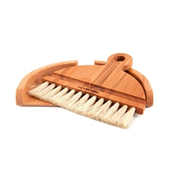 Superior Handcrafted Table Dustpan And Brush By Iris Hantverk