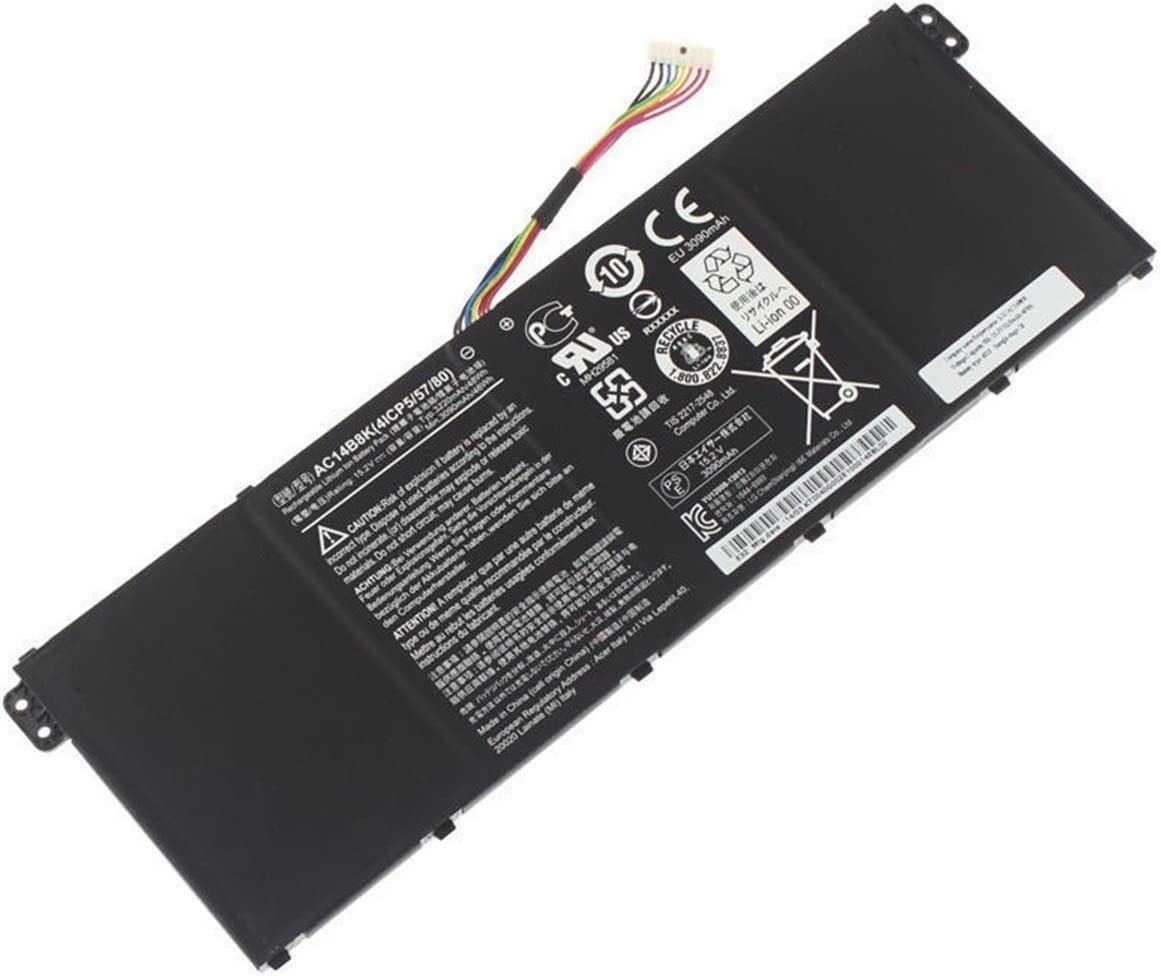 Ding New AC14B8K Replacement Battery Compatible with Acer Chromebook 13 Aspire E3-111 TravelMate B115-M (15.2V 48Wh)