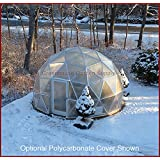 GREENHOUSE GEODESIC DOME 16 FT. With Marine Poly Cover for Hydroponic Gardening