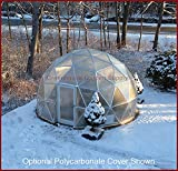 Cheap GREENHOUSE GEODESIC DOME 16 FT. With Marine Poly Cover for Hydroponic Gardening