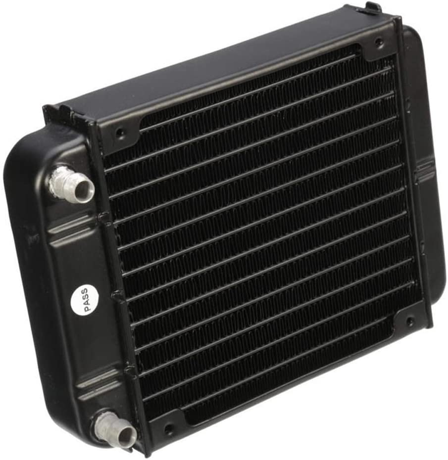 Color : Black, Size : One Size Cooling Case Fan 120mm Aluminum Computer Water Cooling Radiator Cooler for CPU Heatsink for Computer Cases Cooling