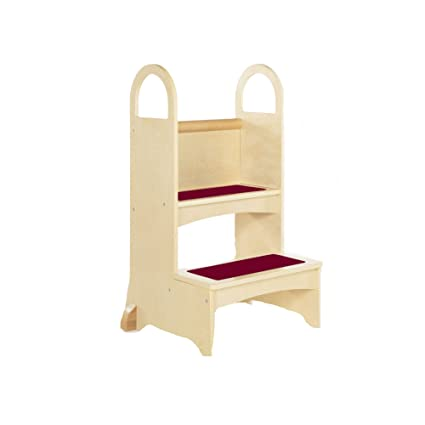 Delicieux Guidecraft High Rise Step Up   Natural: Step Stool For Toddlers, Sink And  Counter