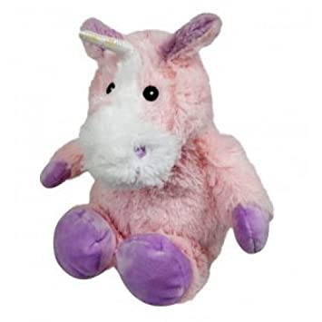 Warmies Unicornio, peluche térmico, color rosa (T-Tex 118)