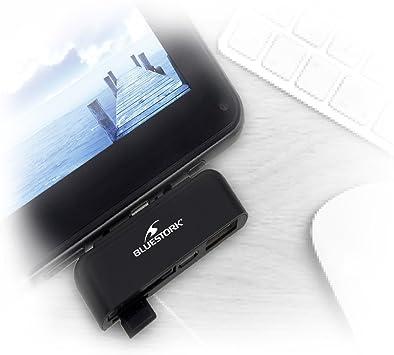 Bluestork - Lector de Tarjetas Lector de Tarjeta SD+USB para ...