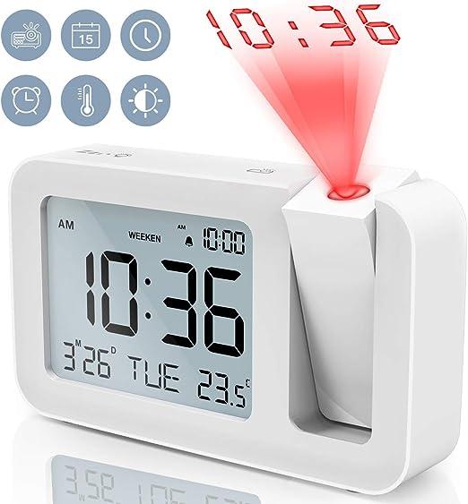 TedGem Despertador, Reloj Despertador Digital Despertador ...