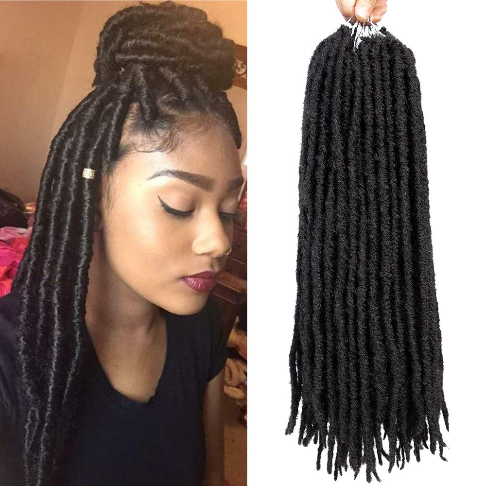 Faux Dreads Loc Extensions Dreadlock Wig Making Supplies SE Dreads Hair Extensions Dreadlock Extenesions Synthetic Dreads