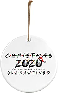Sujing Christmas Ornament 2020/XMAS Decorations,Peace & Happiness Decorations,More Choices (Christmas 2020 QUARANTINED)