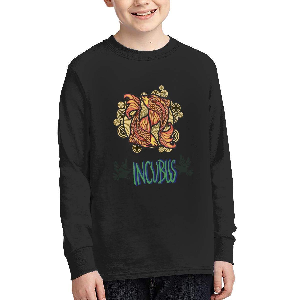 Optumus Incubus by Leeway Kids Sweatshirts Long Sleeve T Shirt Boy Girl Children Teenagers Unisex Tee