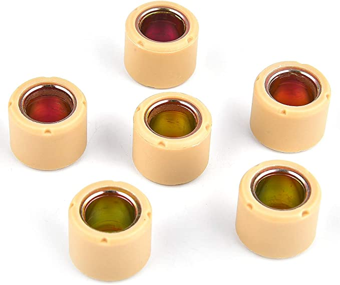 5.5g Scooter Part 16 x 13 mm, 6 pcs Prima Scooter Roller Weight Set