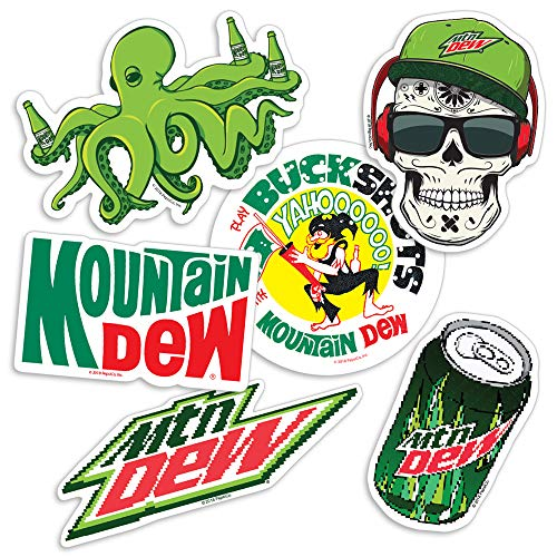 Popfunk Mountain Dew Collectible Stickers