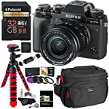 Fujifilm X-T2 Mirrorless Digital Camera with 18-55mm F2.8-4.0 R LM OIS Lens, Polaroid 32GB Card, Filter Kit, RitzGear Bag, Tripod and Accessory Bundle
