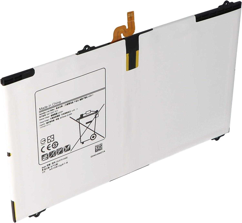 5800 mAh SM-T810 Bater/ía para Samsung Galaxy Tab S2 9.7 sin Herramientas 22,0 WH pol/ímero de Litio 3,8 V