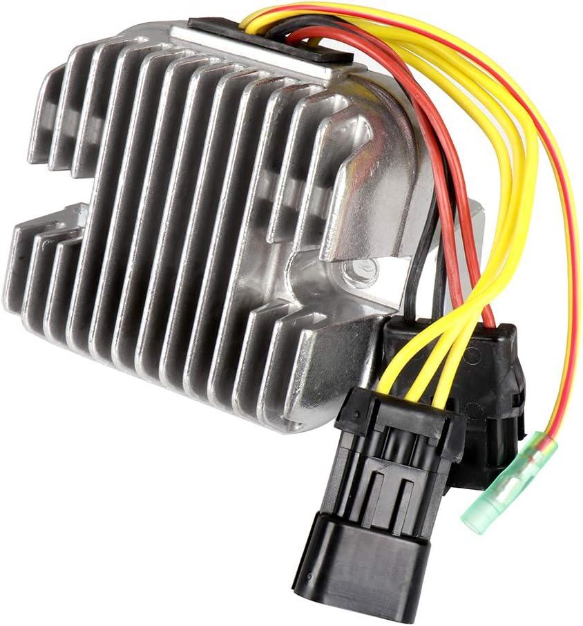 Aintier Regulator Rectifier 4011569 4012384 Voltage Regulator Rectifier Fit for 2008-2009 Polaris Ranger 500 2007-2009 Polaris Ranger 700 2007 Polaris Ranger XP 700 2008-2009 Polaris RZR 800