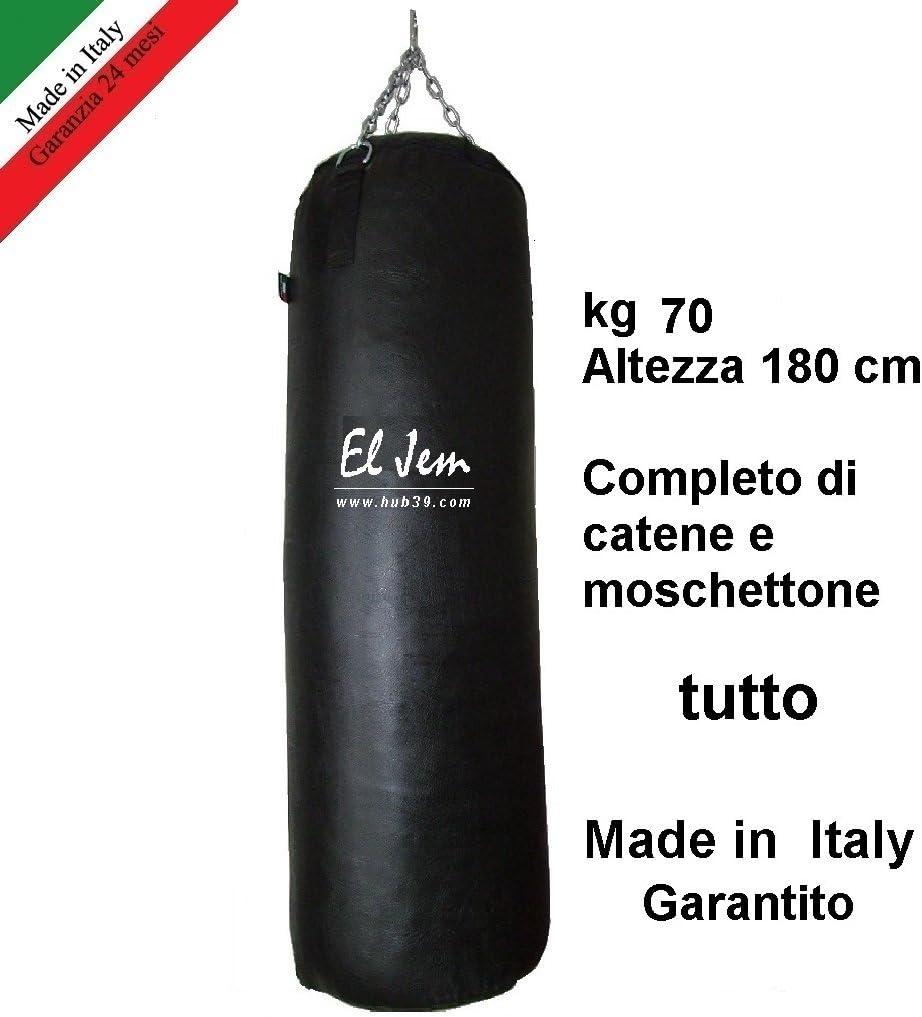 Sacco Boxe Orizzontale per montanti El Jem Made in Italy  Uppercut
