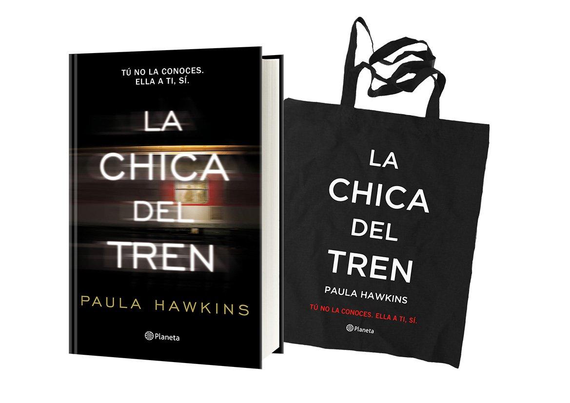 Pack Navidad Bolsa La chica del tren: Paula Hawkins ...