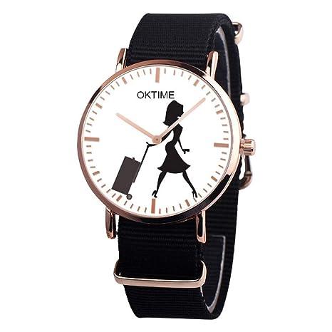 Amazon.com: Reloj de pulsera deportivo para mujer, de moda ...