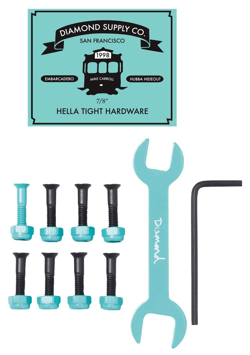 Viti Diamond: Hella Tight Hardware Mike Carroll 7/8