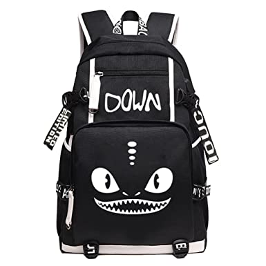 78c0cedc221 YOURNELO Girl's Boy's How to Train Your Dragon Rucksack School Backpack  Bookbag (B ...
