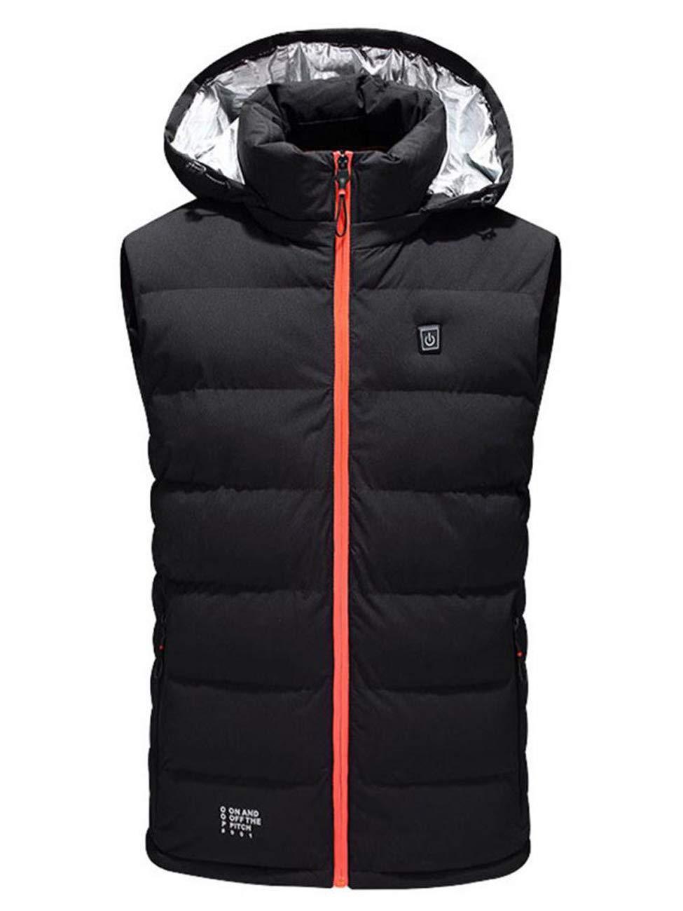 GL SUIT Unisex elektrisch beheizt Weste Waschbar Leicht USB-Lade Beheizte Gilet Jacke warme Kleidung für Outdoor Ski Wandern Jagd Motorrad Camping