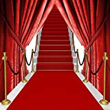 Red Carpet Stairs 10' x 10' Digital Printed Photography Backdrop KA Series Background KA163