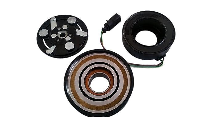 Volkswagen Jetta a/c compresor Kit de embrague SD7 V16 (Polea, rodamientos, bobina, placa): Amazon.es: Coche y moto