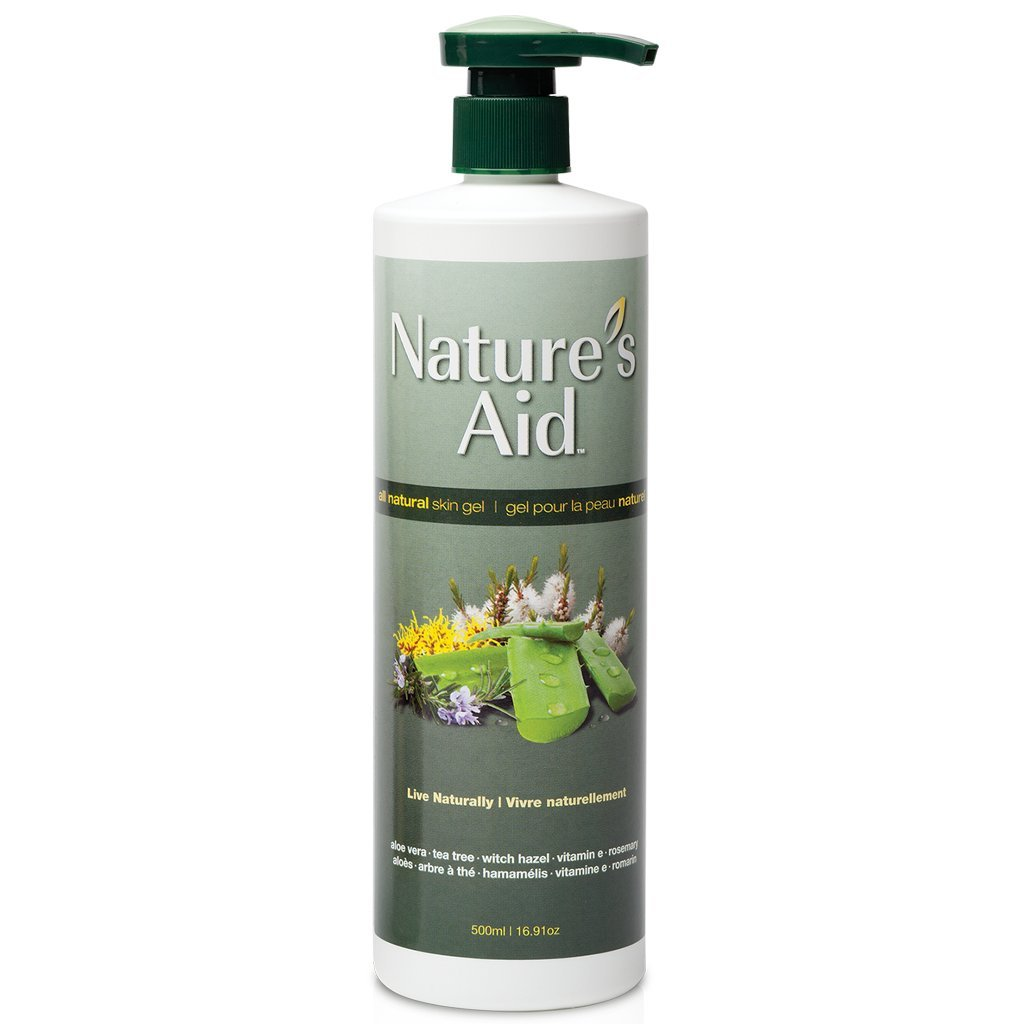 Nature's Aid - All Natural Skin Gel- 500 ml