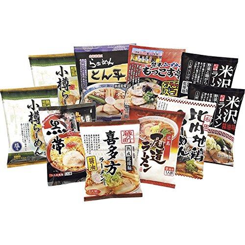 通販パークその他 ご当地ラーメン[乾麺]味くらべ 10食の画像