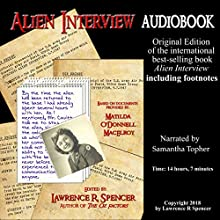 Alien Interview Audiobook by Lawrence R. Spencer Narrated by Samantha Topher