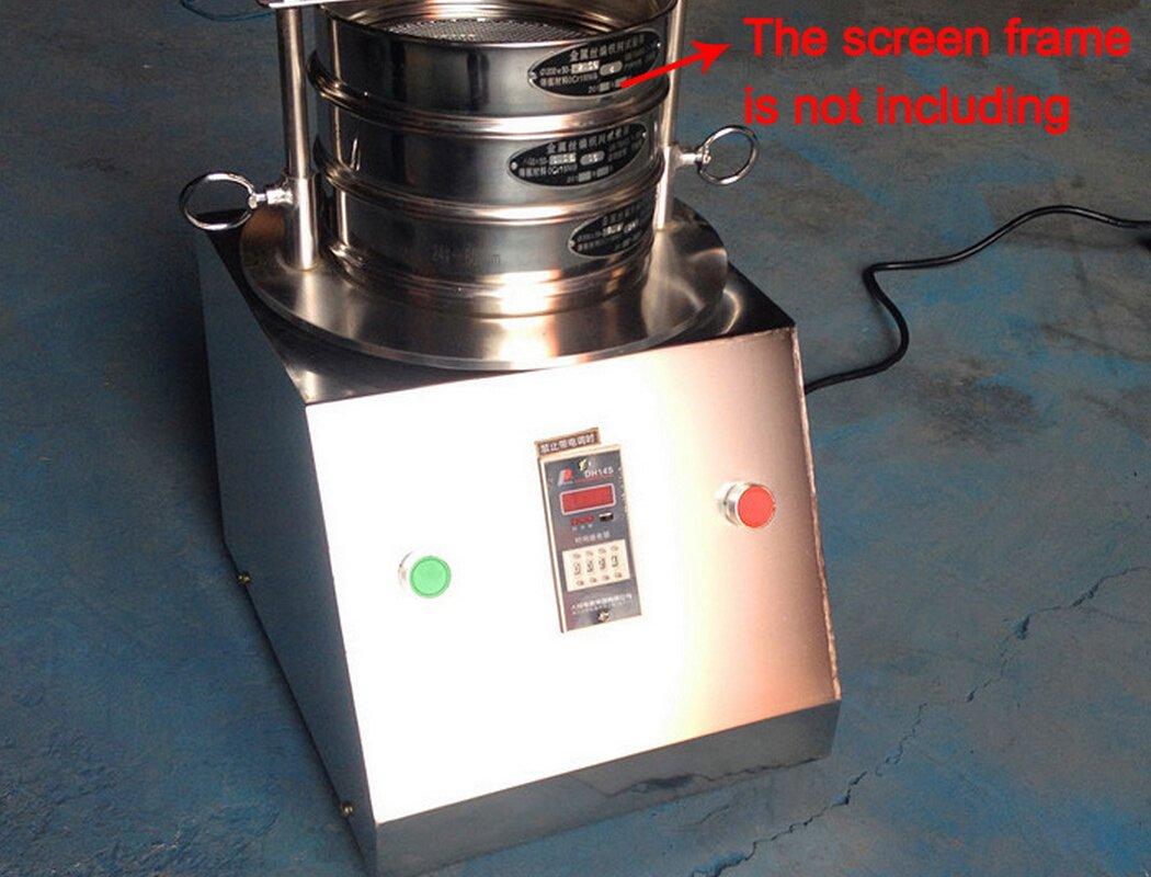 New Vibrating Sieve Machine for Granule/powder/grain, Electric Lab Shaker by WRNJIAWANSHUN (Image #3)