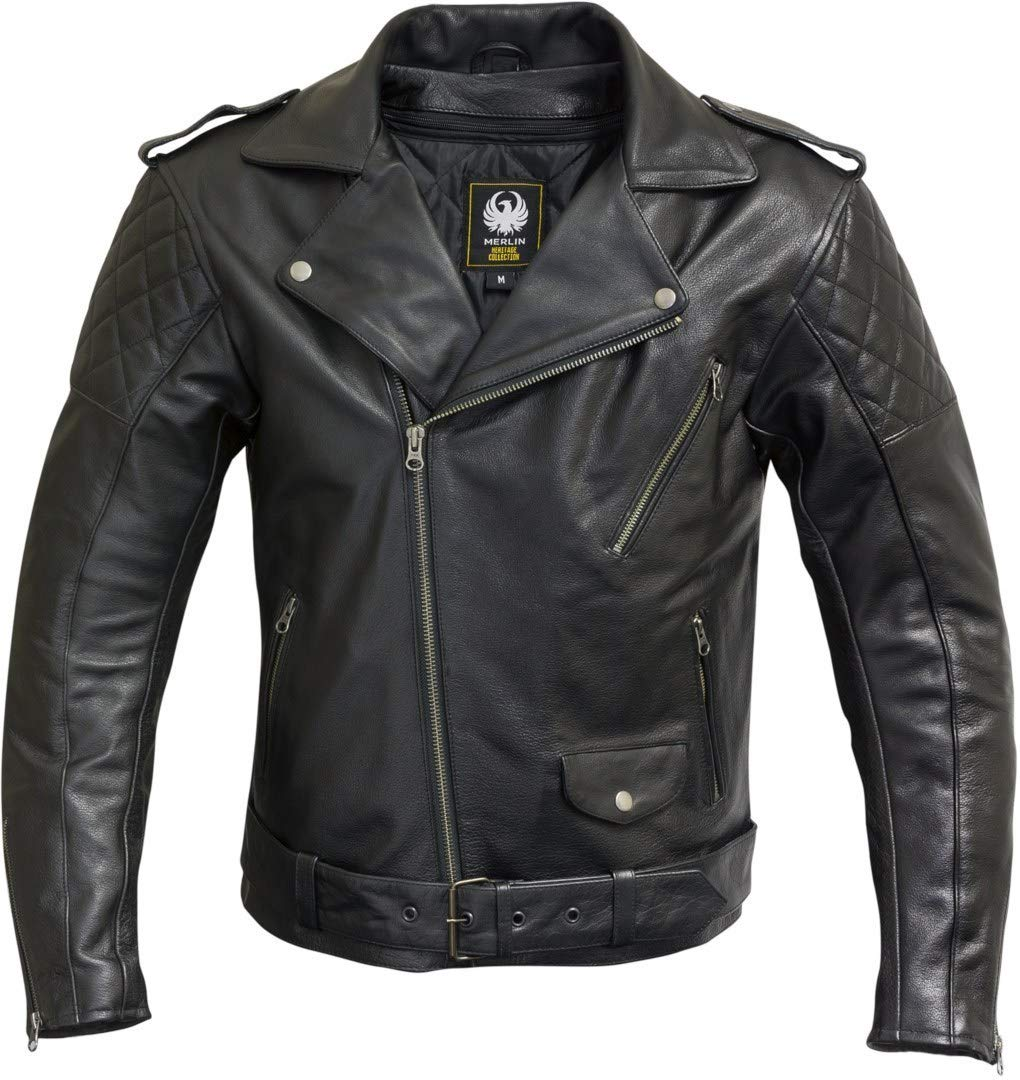 Merlin Pilsbury Veste de moto Noir