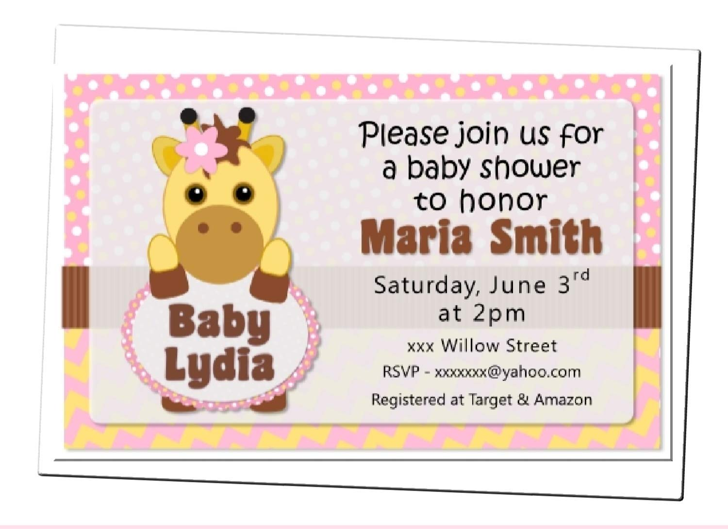 Pink Giraffe Baby Shower Decorations  from images-na.ssl-images-amazon.com