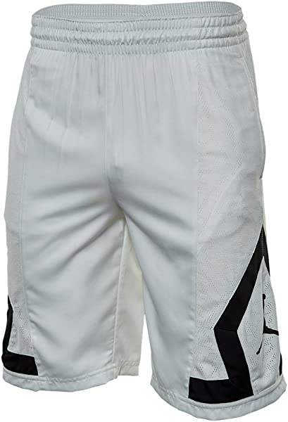 4152f30b1229b4 Jordan Flight Diamond Rise Basketball Shorts Mens Style  799547-101 Size   XXL White
