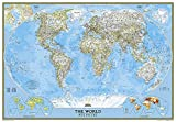 World Classic [Enlarged and Laminated] (National Geographic Reference Map)