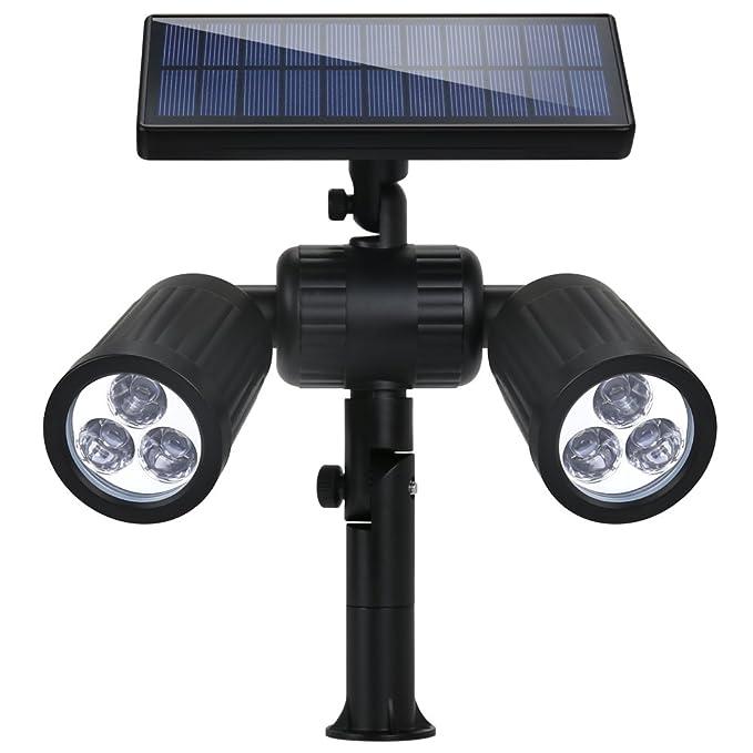 12 opinioni per Lampade Solari a led da Esterno 350 LM,Illuminazione Wireless Giardino Solare 6