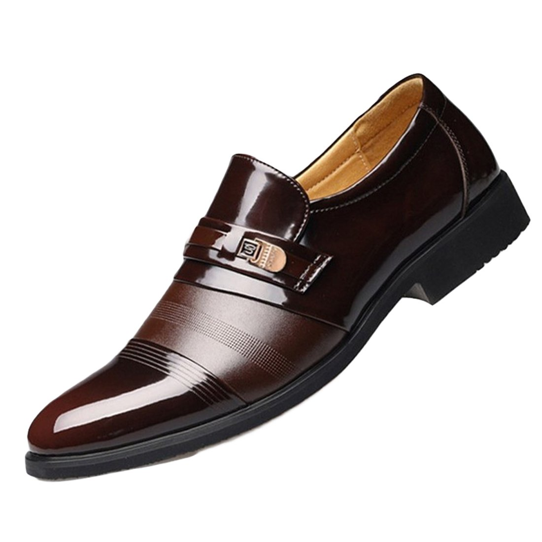 Mens Dress Shoes Oxford Shoes Lace up Loafer Comfortable Classic Modern Formal Business Shoes